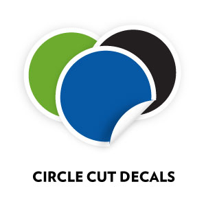 Custom Circle Cut Decals