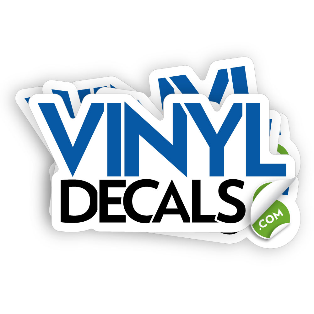 Custom Die Cut Stickers And Decals - Create vinyl decals