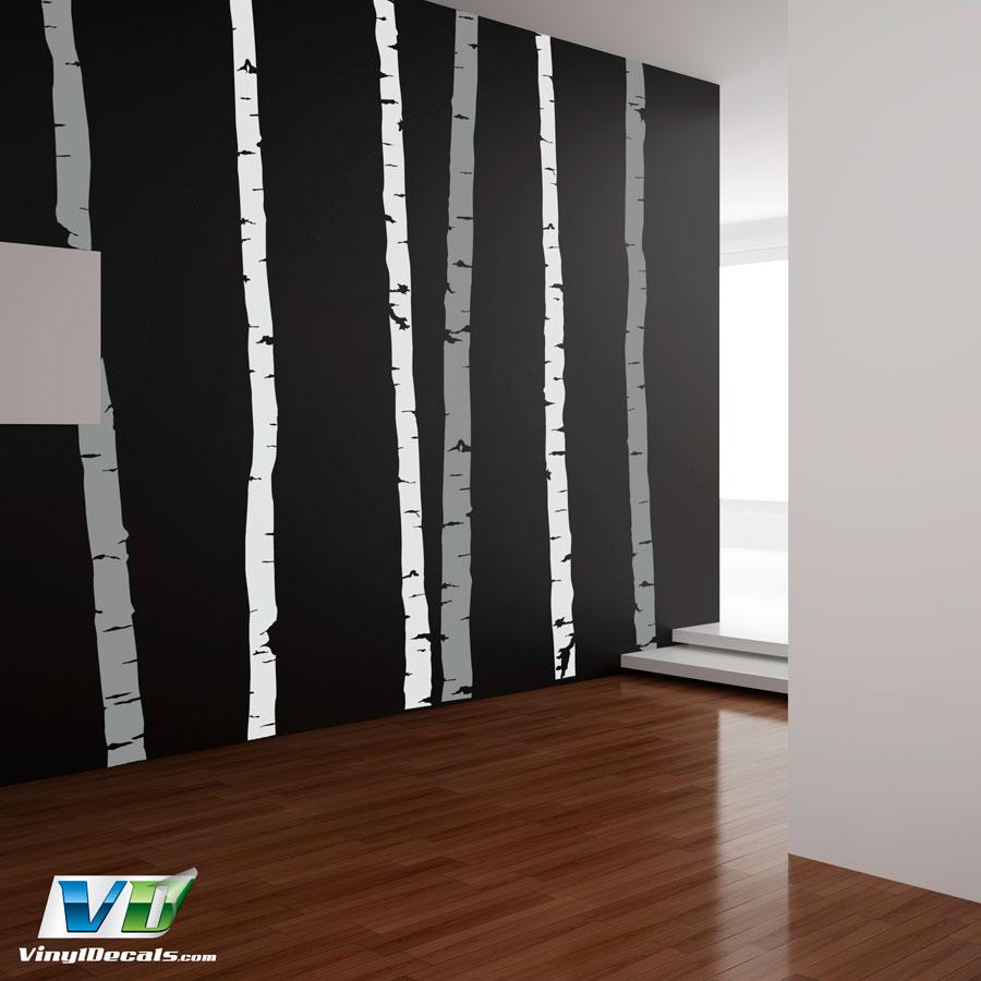 Vinyldecals Com Birch Tree Wall Art Decal