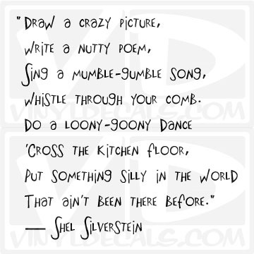 Crazy picture write a nutty poem