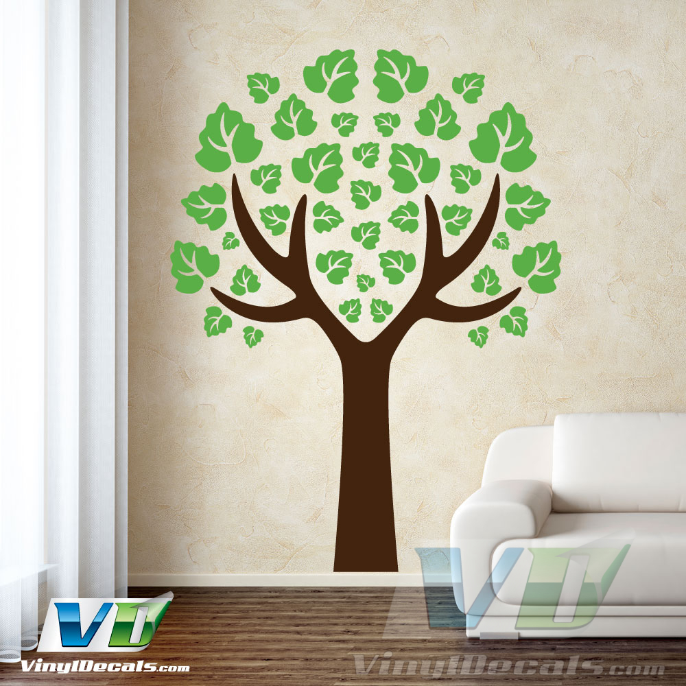 Antler Tree Wall Art Decal