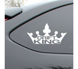 Drift King Vinyl Decal