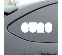 Euro Block Style Vinyl Deca