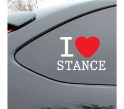I love Stance Vinyl Deca