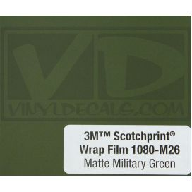 Matte Military Green