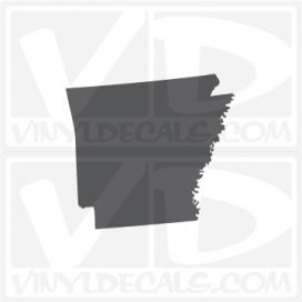 Arkansas State Car Vinyl Decal Sticker