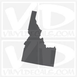 Idaho State Car Vinyl Decal Sticker