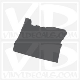 Oregon State Car Vinyl Decal Sticker