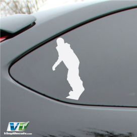 Snowboarder Vinyl Decal Sticker