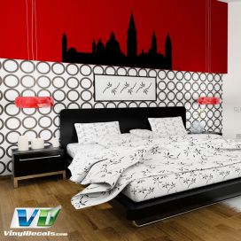 Venice Italy Skyline Vinyl Wall Art Decal Sticker