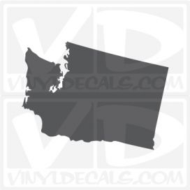Washington State Car Vinyl Decal Sticker