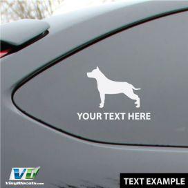 Example of custom text