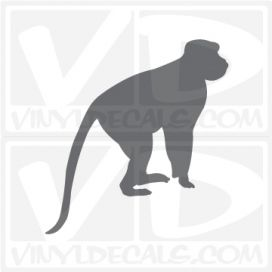 Baboon Monkey Car Vinyl Decal Sticker