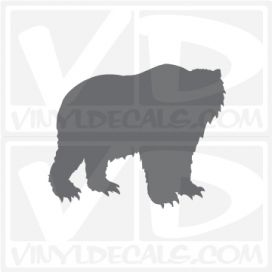 Bear Car Vinyl Decal Sticker