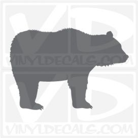 Bear Car Vinyl Decal Sticker
