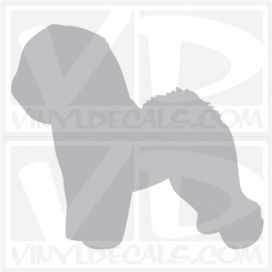 Bichon Frise Vinyl Decal
