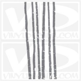 Birch Tree wall decal