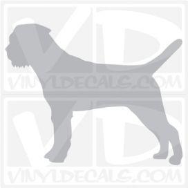 Border Terrier  Vinyl Decal