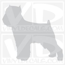 Brussels Griffon Vinyl Decal