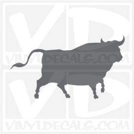 Bull Car Vinyl Decal Sticker