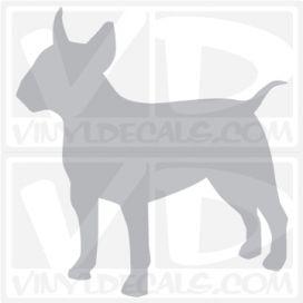 Bull Terrier Vinyl Decal