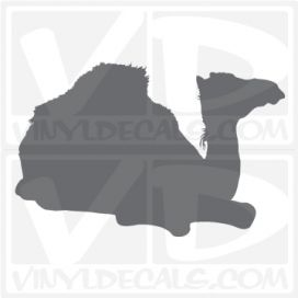 Camel 2 Car Vinyl Decal Sticker