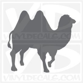 Camel 3 Car Vinyl Decal Sticker