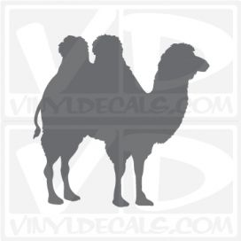 Camel 4 Car Vinyl Decal Sticker