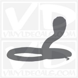 Cobra Snake Car Vinyl Decal Sticker