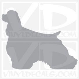 Cocker Spaniel Vinyl Decal