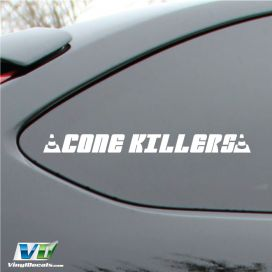 Cone Killers Decal