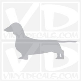 Dachshund Vinyl Decal