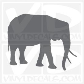 Elephant Car Vinyl Decal Sticker