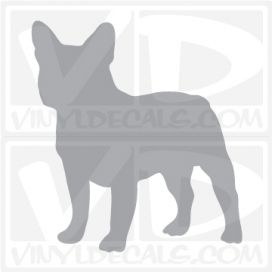 French Bulldog Vinyl Decal