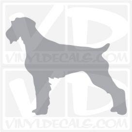 German Wirehaired PointerDog Vinyl Decal
