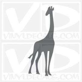 Giraffe Car Vinyl Decal Sticker