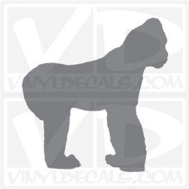 Gorilla Car Vinyl Decal Sticker