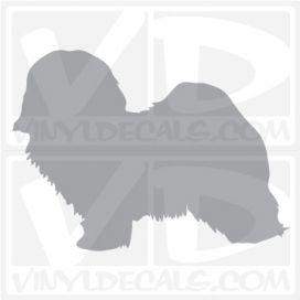 Havanese Dog Vinyl Decal