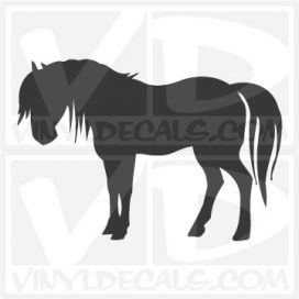 Horse Car Vinyl Decal Sticker