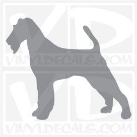 Irish Terrier Dog Vinyl Decal