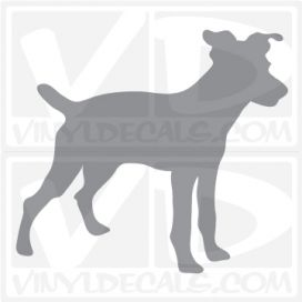 Jack Russell Terrier Dog Vinyl Decal