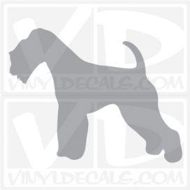 Lakeland Terrier Dog Vinyl Decal
