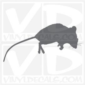 Dead Mouse Car Vinyl Decal Sticker