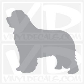 Newfoundland Dog Vinyl Decal
