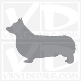 Pembroke Welsh Corgi Dog Vinyl Decal