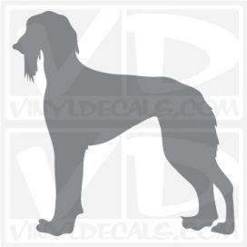 Saluki Dog Vinyl Decal