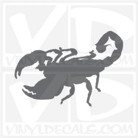 Scorpion 6 Vinyl Decal