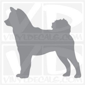 Shiba Inu Dog Vinyl Decal