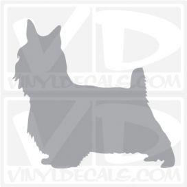Silky Terrier Dog Vinyl Decal