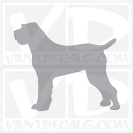 Spinone Italiano Dog Vinyl Decal